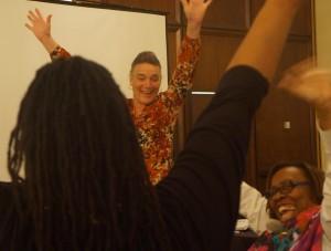 Kassia Hands Up