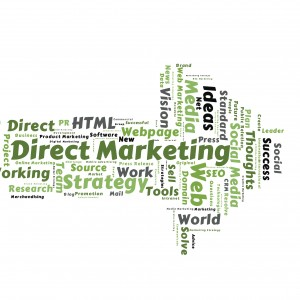 Direct Marketing word cloud