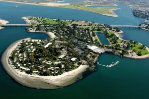 Paradise Point Resort on Mission Bay